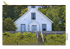 Old Mission Point Lighthouse In Grand Traverse Bay Michigan Number 2 Carry-all Pouch