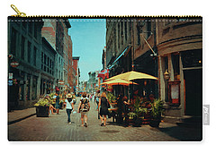 Old Montreal - Quebec Carry-all Pouch