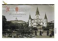 Old New Orleans Louisiana - Founded 1718 Carry-all Pouch
