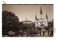 Old New Orleans Photo - Saint Louis Cathedral Carry-all Pouch