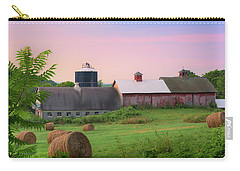 Carry-all Pouch featuring the photograph Old New York by Bill Wakeley