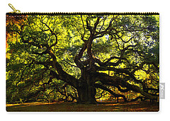 Old Old Angel Oak In Charleston Carry-all Pouch