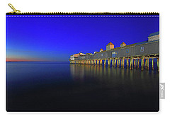 Old Orchard Beach Pier At Sunrise Carry-all Pouch