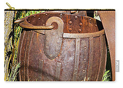 Old Ore Bucket Carry-all Pouch by Phyllis Denton