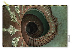 Old Ornamented Spiral Staircase Carry-all Pouch