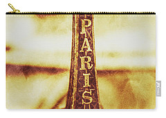 Old Paris Decor Carry-all Pouch by Jorgo Photography - Wall Art Gallery