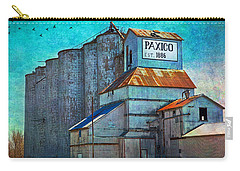 Old Paxico Kansas Grain Elevator Carry-all Pouch
