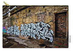 Carry-all Pouch featuring the photograph Old Peters Factory 667 by Kevin Chippindall