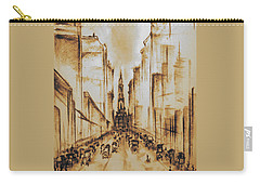 Old Philadelphia City Hall 1920 Carry-all Pouch