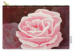 Old Pink Rose Carry-all Pouch