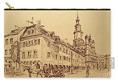 Old Poznan Drawing Carry-all Pouch