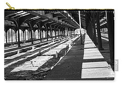 Old Railway Lines Of Jersey  Carry-all Pouch