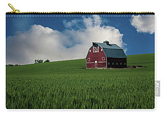 Old Red Barn In The Palouse Carry-all Pouch