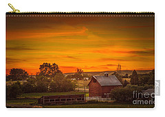 Old Red Barn Carry-all Pouch by Robert Bales