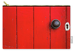 Old Red Door  Carry-all Pouch