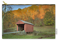 Old Red Or Walkersville Covered Bridge Carry-all Pouch