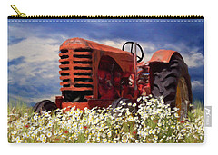 Old Red Tractor Carry-all Pouch