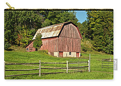 Old Red_9374 Carry-all Pouch by Michael Peychich