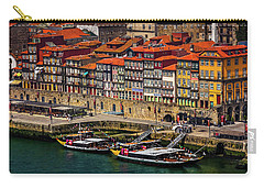 Carry-all Pouch featuring the photograph Old Ribeira Porto  by Carol Japp