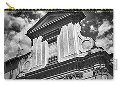 Old Roman Building In Black And White Carry-all Pouch
