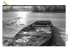 Old Rusty Boat Carry-all Pouch by Davorin Mance