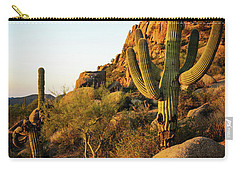 Old Saguaro Cactus Carry-all Pouch