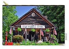 Old Sautee Store - Helen Ga 004 Carry-all Pouch by George Bostian