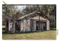 Carry-all Pouch featuring the photograph Old Shack by Kim Hojnacki