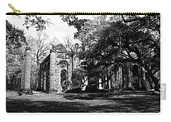 Carry-all Pouch featuring the photograph Old Sheldon Church  by Gary Wightman