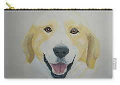 Carry-all Pouch featuring the painting Old Shep by Norm Starks