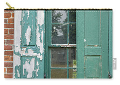 Old Shuttered Door Carry-all Pouch