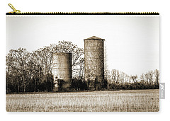 Old Silos Carry-all Pouch by Barry Jones