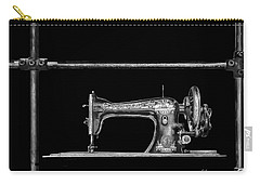 Old Singer Sewing Machine Carry-all Pouch