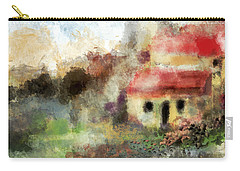 Old Spanish Village Carry-all Pouch by Jessica Wright