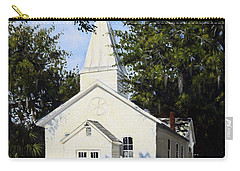 Old St. Andrew Church Carry-all Pouch by Rick McKinney
