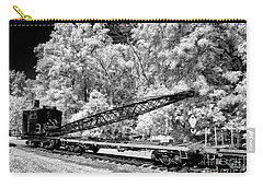 Old Steam Wrecker Car Carry-all Pouch