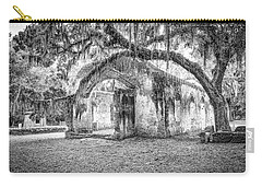Old Tabby Church Carry-all Pouch by Scott Hansen