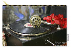 Carry-all Pouch featuring the photograph Old Time Photo by Lori Mellen-Pagliaro
