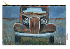 Carry-all Pouch featuring the painting Old Timer by Billie Colson