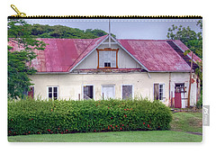 Old Tobago House Carry-all Pouch by Nadia Sanowar