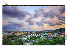 Old Town And Charles Bridge, Prague, Czech Republic Carry-all Pouch