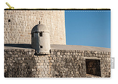Carry-all Pouch featuring the photograph Old Town Dubrovnik by Silvia Bruno
