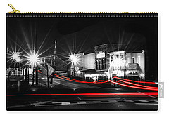 Old Town Helena At Night Carry-all Pouch by Shelby  Young