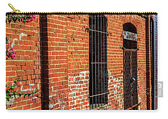 Carry-all Pouch featuring the photograph Old Town Jail by Doug Camara