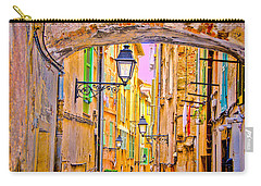 Old Town Nizza, Southern France Carry-all Pouch