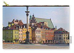 Old Town Square Zamkowy Plac In Warsaw Carry-all Pouch