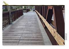 Old Town Temecula Bridge Carry-all Pouch by Russell Keating