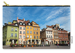 Carry-all Pouch featuring the photograph Old Town Warsaw by Chevy Fleet