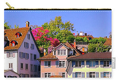 Old Town Zurich, Switzerland Carry-all Pouch