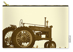 Old Tractor IIi In Sepia Carry-all Pouch